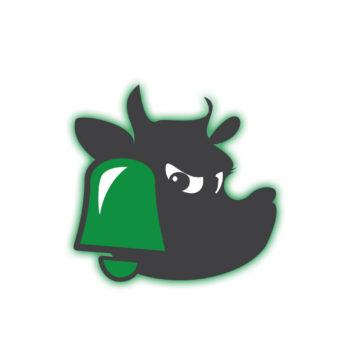 Alerta verde la vaca gigante surf