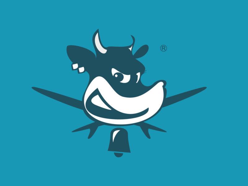 la vaca gigante logo campeonato olas grandes surf xxl santander